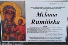 Pogrzeb śp. Melanii Rumińskiej, Mamy Ks. Proboszcza