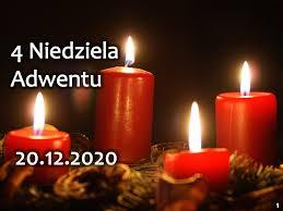 4 niedziela Adwentu - ogłoszenia 20. 12. 2020 r.