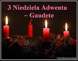 Ogłoszenia duszpasterskie - III niedziela Adwentu