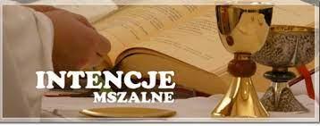 Intencje Mszy Świętych 17-23.10.2021