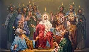 Niedziela Zesłania Duch Świętego - Ogłoszenia 23. 05. 2021 r.
